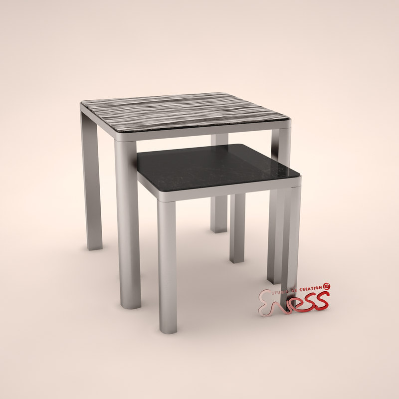 Table aston 50 smania 3d model for Table 52 2015