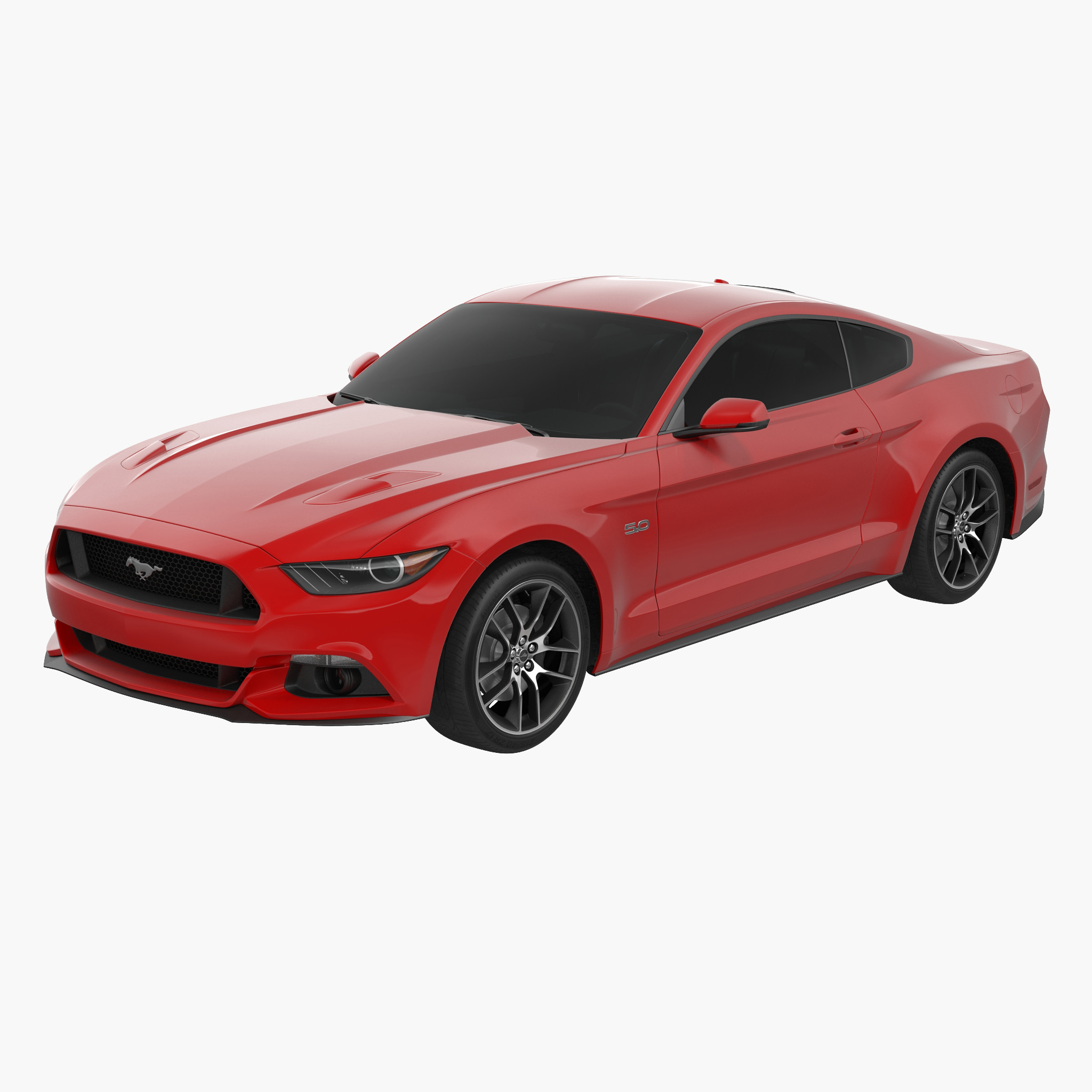 Sports Car Ford Mustang Coupe 2015 Without Interior_1.jpg