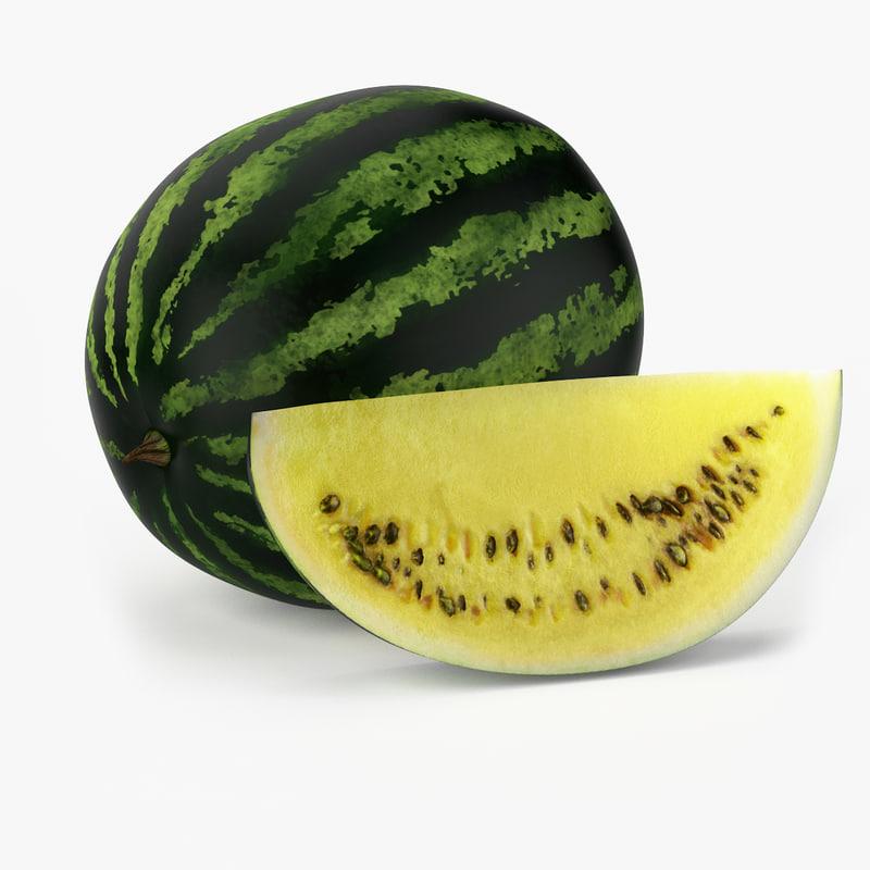 Realistic Watermelon