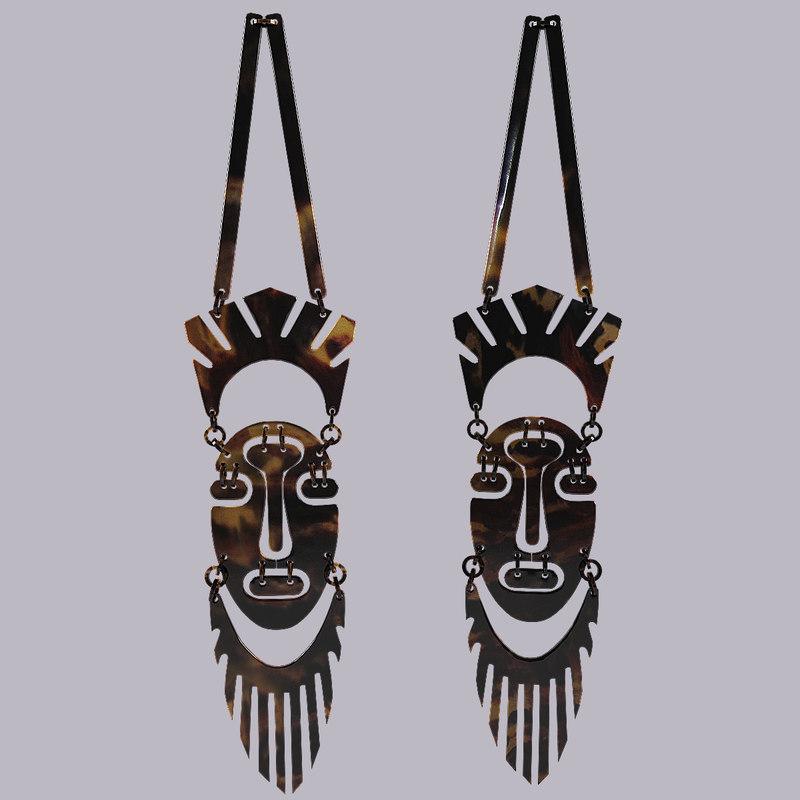 African mask souvenir 3d model_1_.jpg