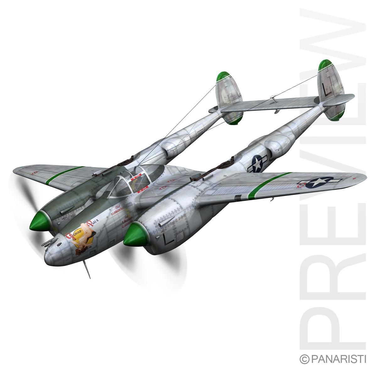 Lockheed P-38 Lightning - Glamour Puss II