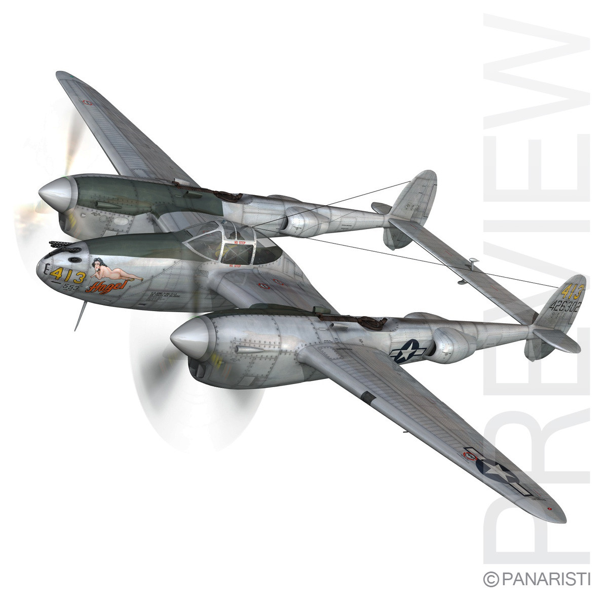 Lockheed P-38 Lightning - Hazel