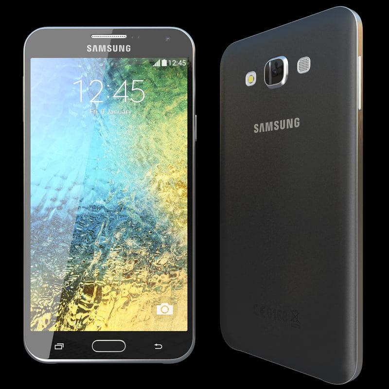 Samsung Galaxy E7 Black