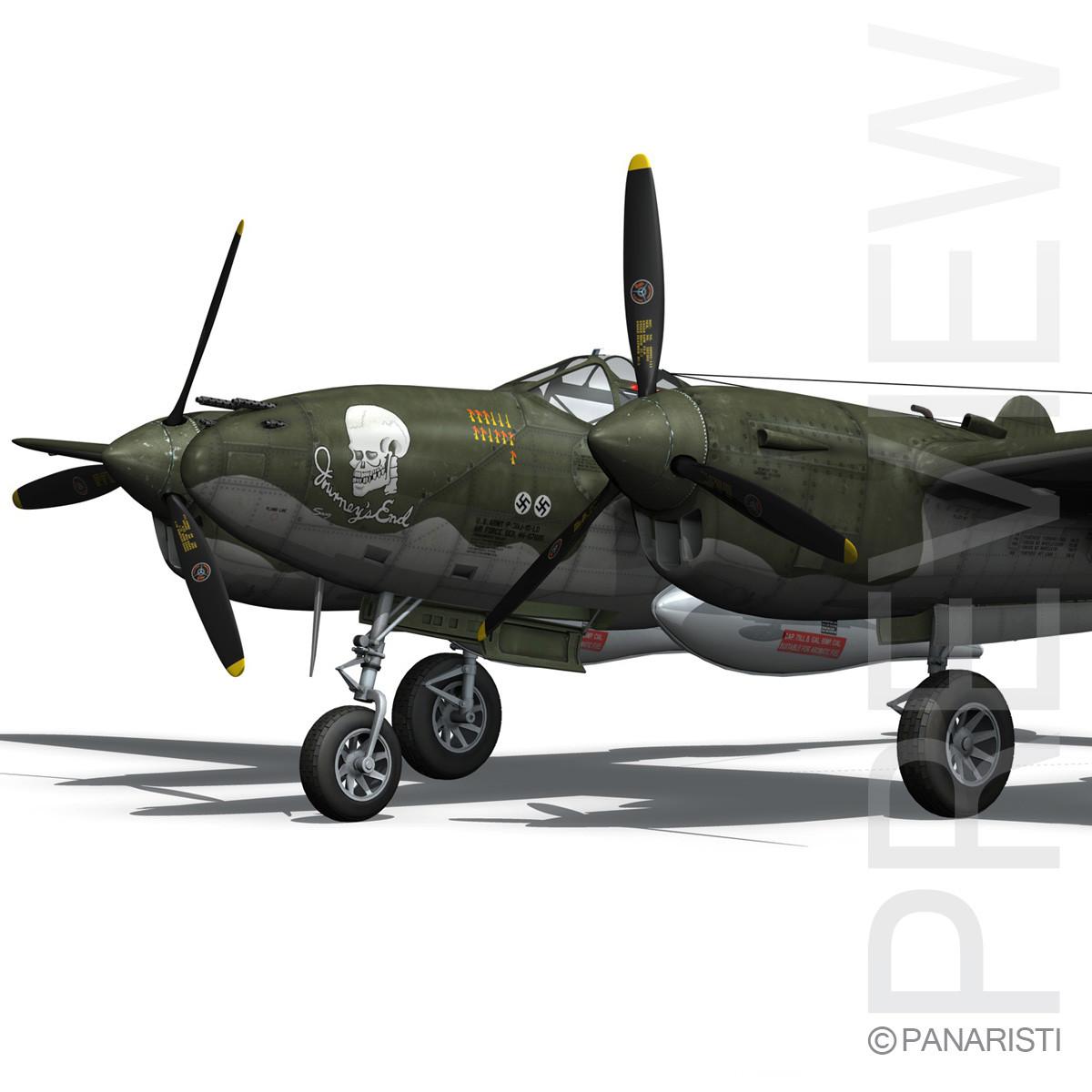 Lockheed P-38 Lightning - Journeys End