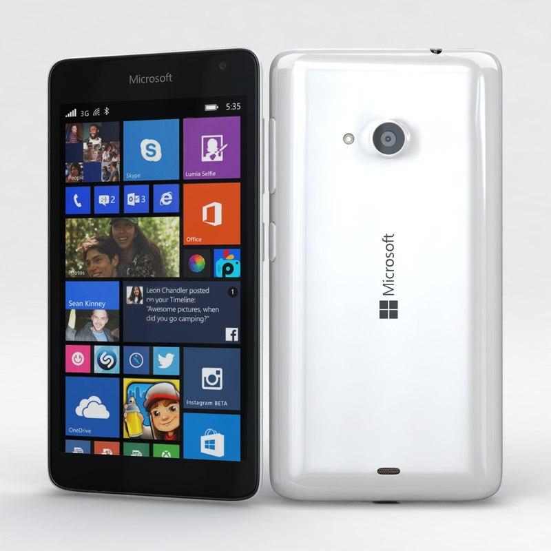 Microsoft Lumia 535 and Dual SIM White