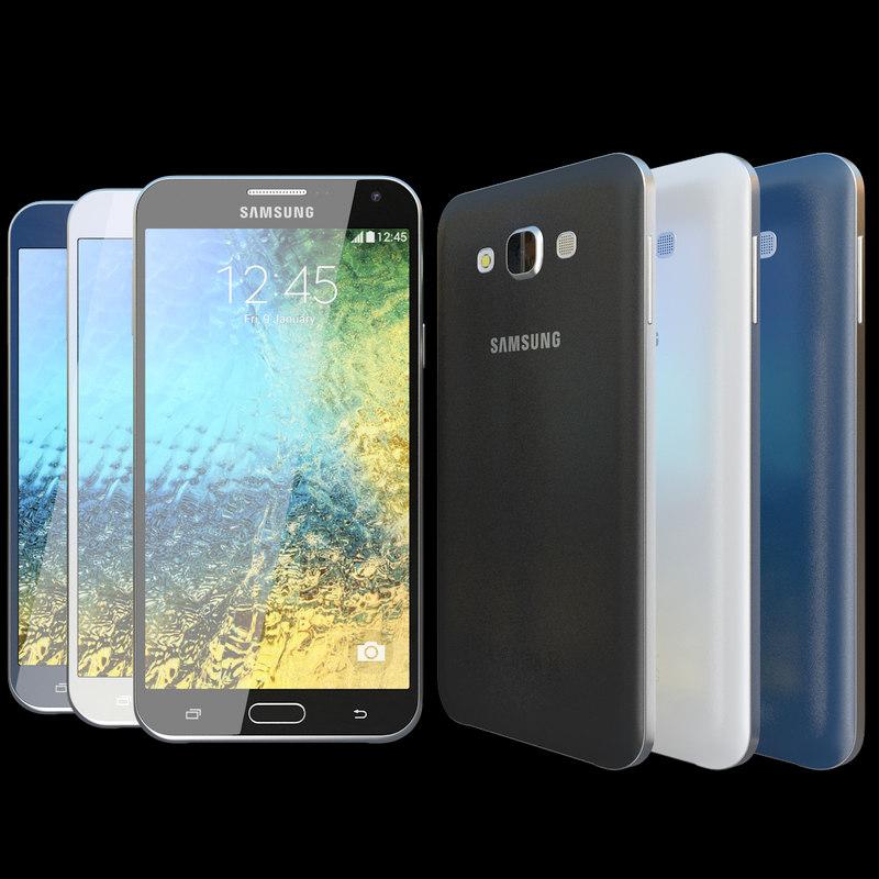 Samsung Galaxy E7 All Colors