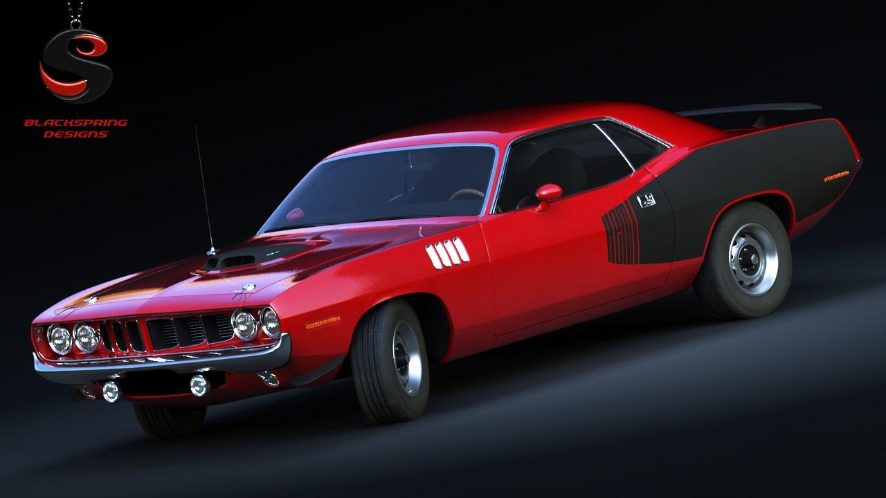 Plymouth Cuda 426 1971