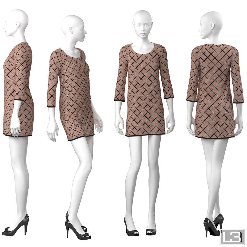 Shop window Woman Mannequin 061