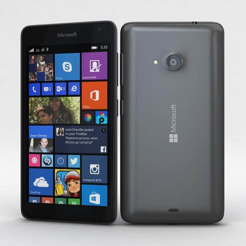 Microsoft Lumia 535 and Dual SIM Gray
