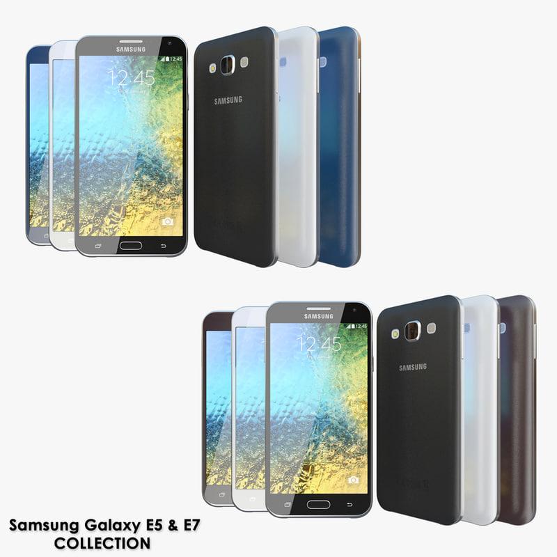 realistic samsung galaxy e5 obj