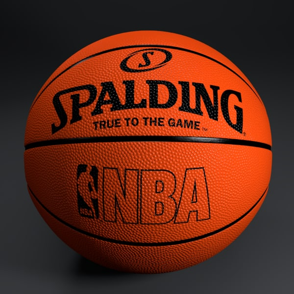 Official Spalding  basketball Texture Maps