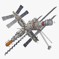 space station 3D models
