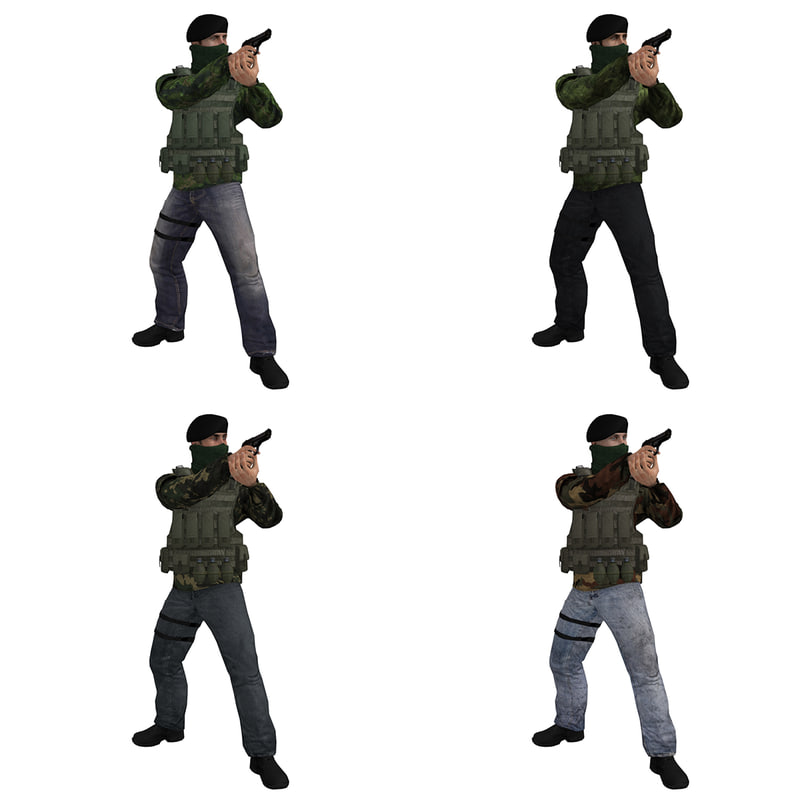 Soldier IRA Pack Rigged