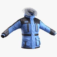 winter coat 3D models