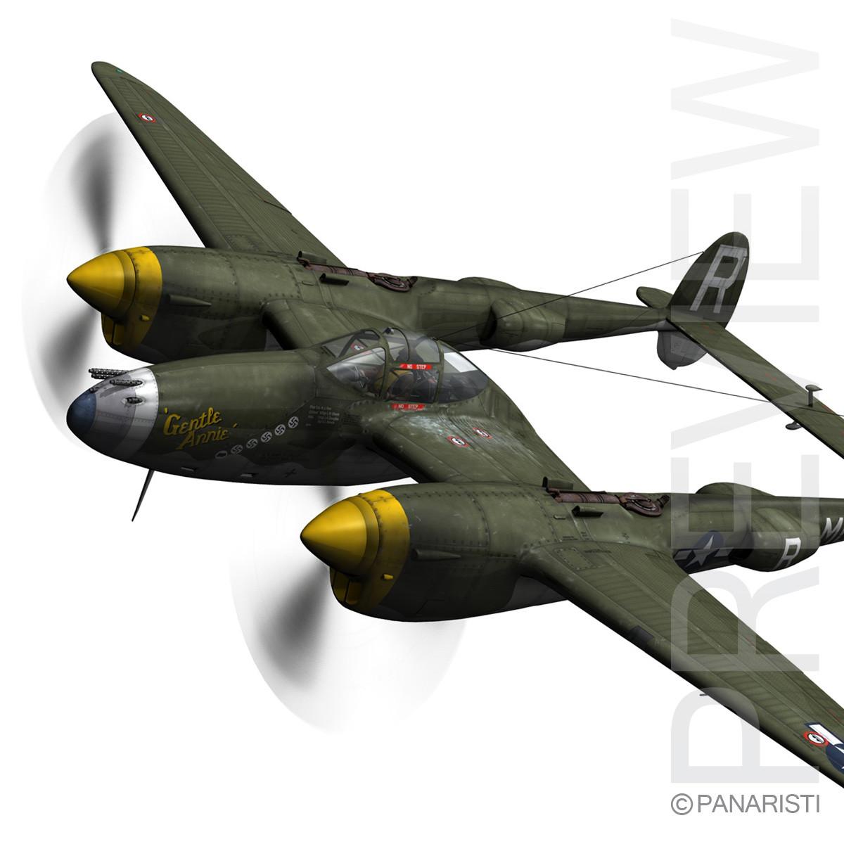 Lockheed P-38 Lightning - Gentle Annie