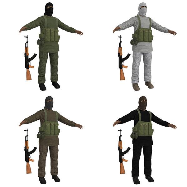 Talibans PACK 3D Models
