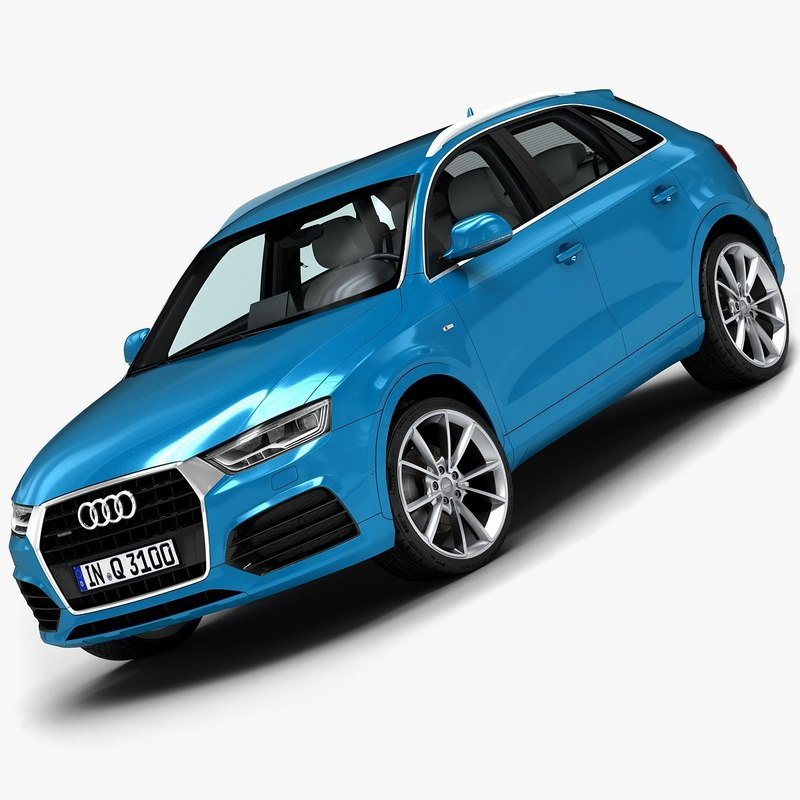 2015 Audi Q3 3d Model