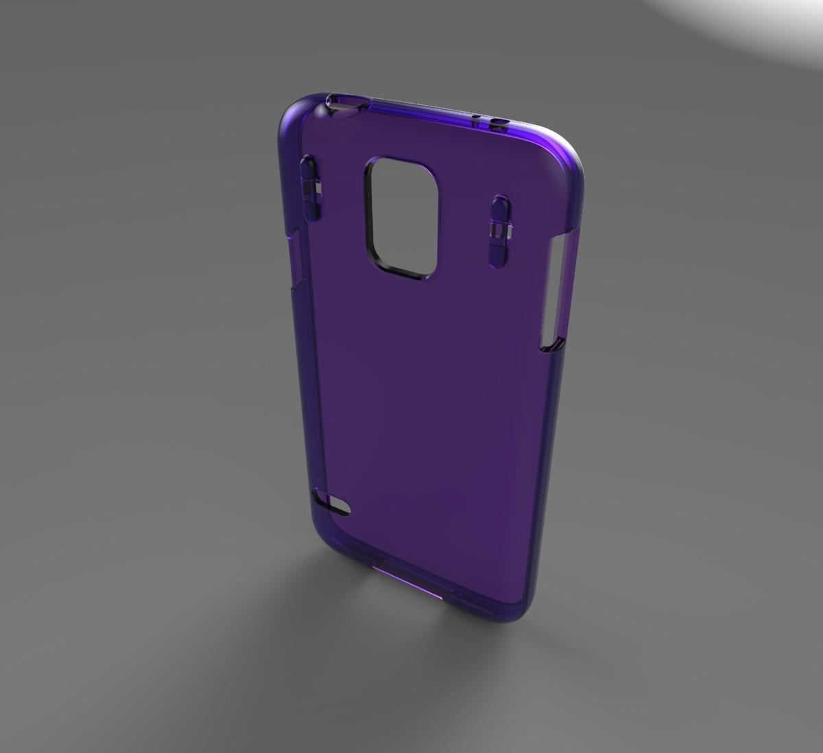 lanyard galaxy case 3d model
