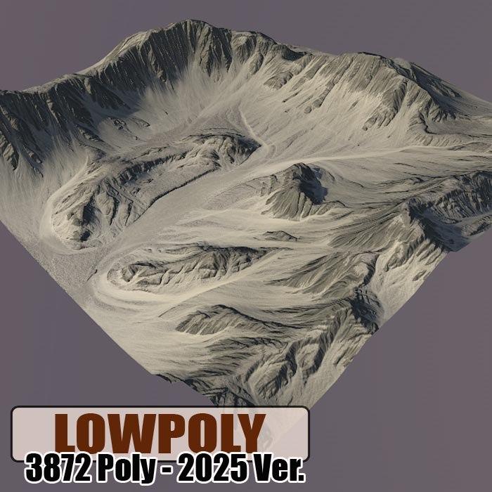 Lowpoly Mountain Z47