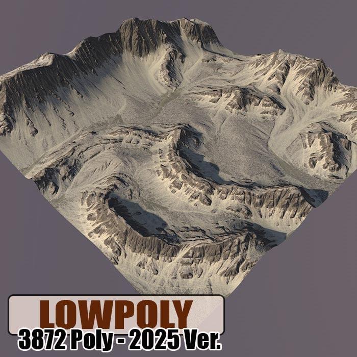 Lowpoly Mountain Z48
