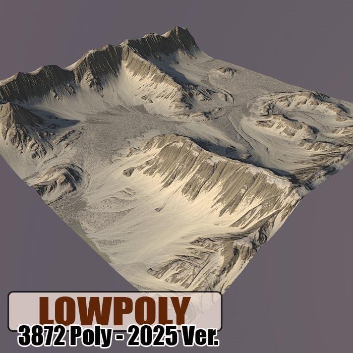 Lowpoly Mountain Z51