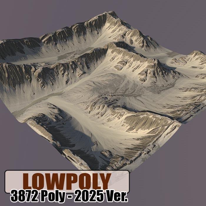 Lowpoly Mountain Z53