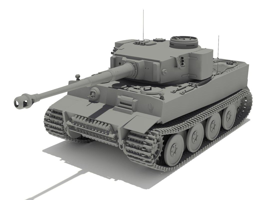 Pz.VI Tiger Ausf.H1. 502 battalion
