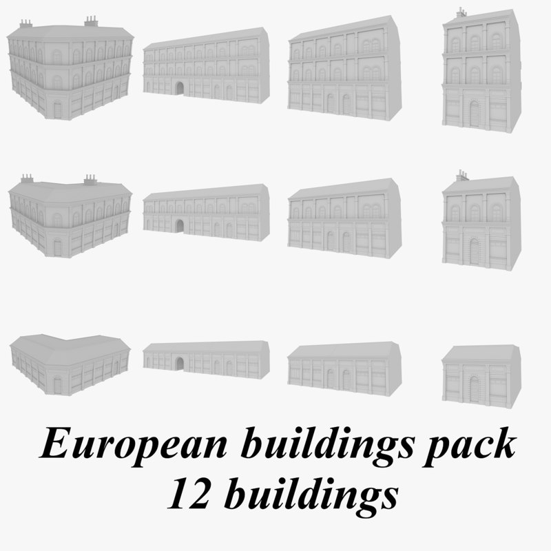 European buildings collection