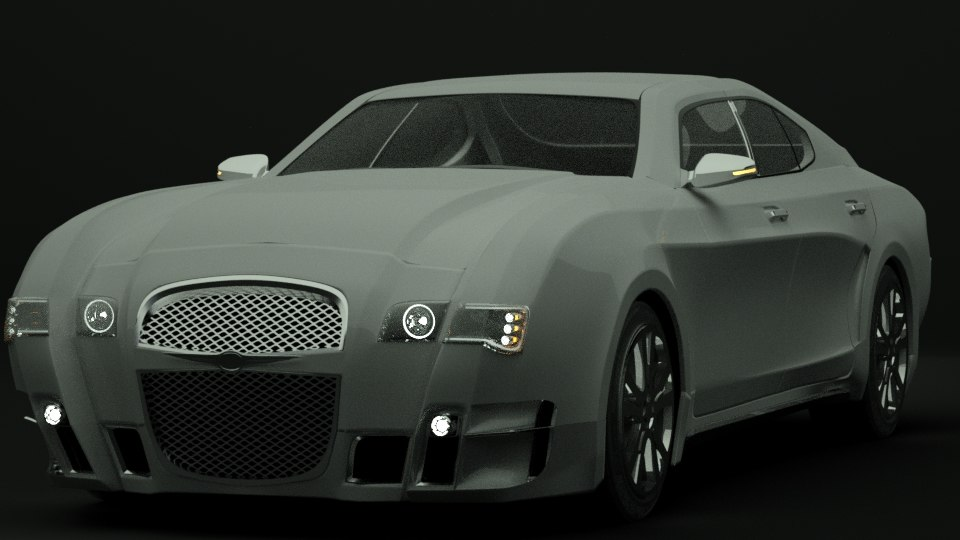 Luxury Sports Car Concept