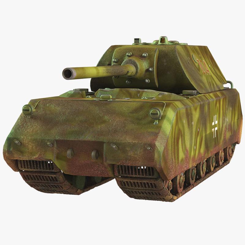 Tank Panzer VIII MAUS
