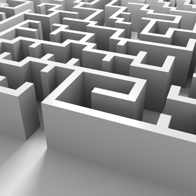Square Labyrinth 4