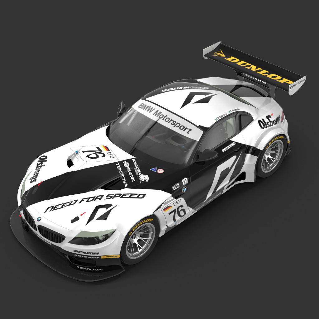 Bmw Z4 Gt3: GT2 3d Models