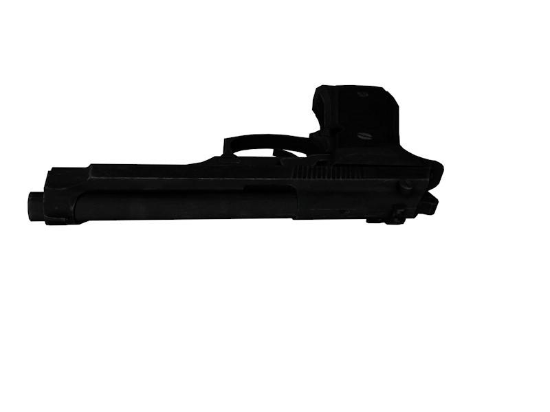 3ds max beretta m9 pistol