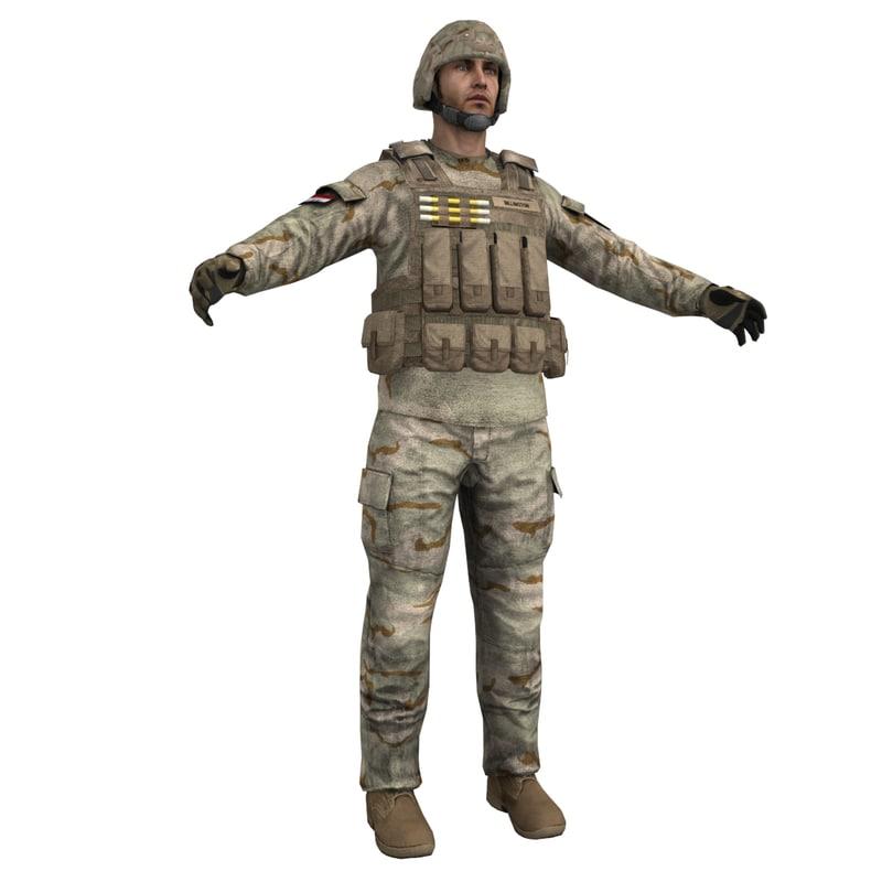 Soldier 6 LOD2
