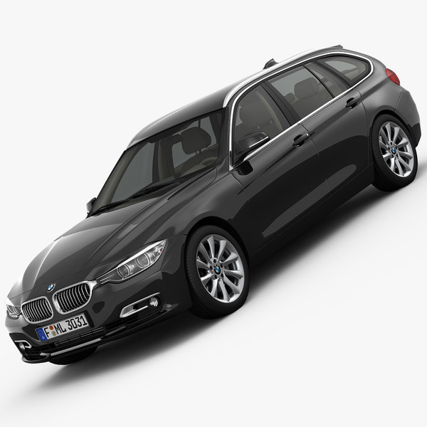 BMW 3 Series F31 Touring 2013 3D Models
