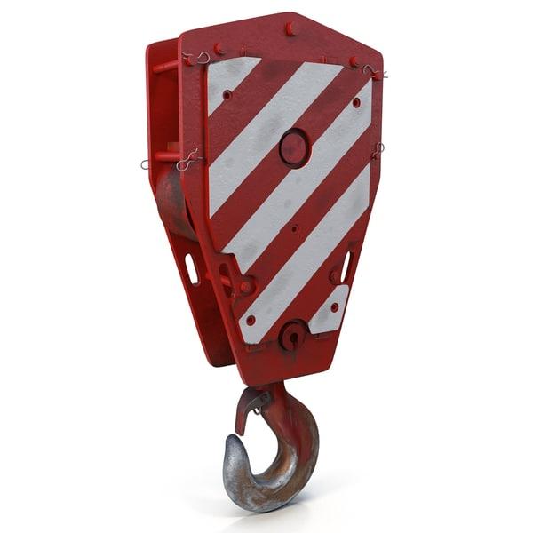 Crane Hook 3D Models