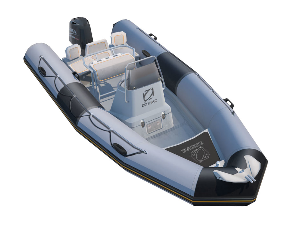 Inflatable boat Zodiac ProOpen 550