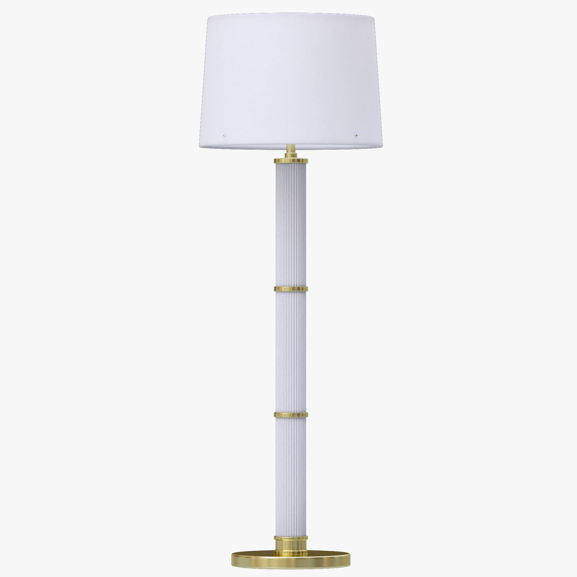 3d ralph lauren allen for Ralph lauren floor lamp brass
