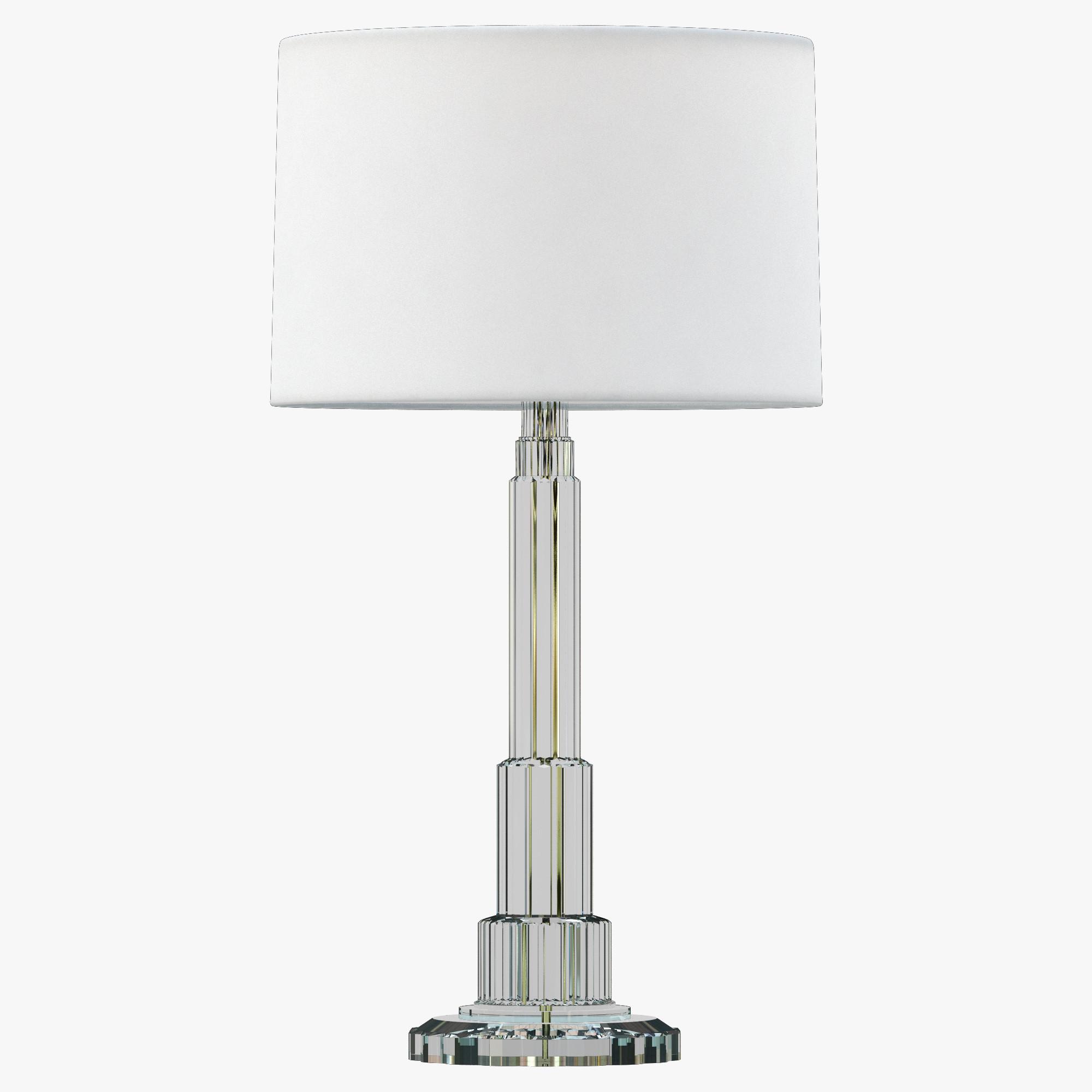 Ralph Lauren BRIGGS TABLE LAMP - CRYSTAL