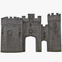 Gatehouse 3D models
