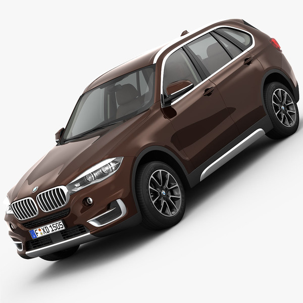 BMW X5 F15 Pure Experience 2014 3D Models