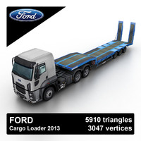 ford cargo 3D models
