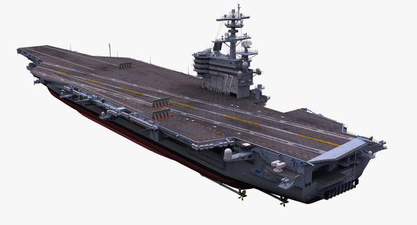 CVN 77 3D Models