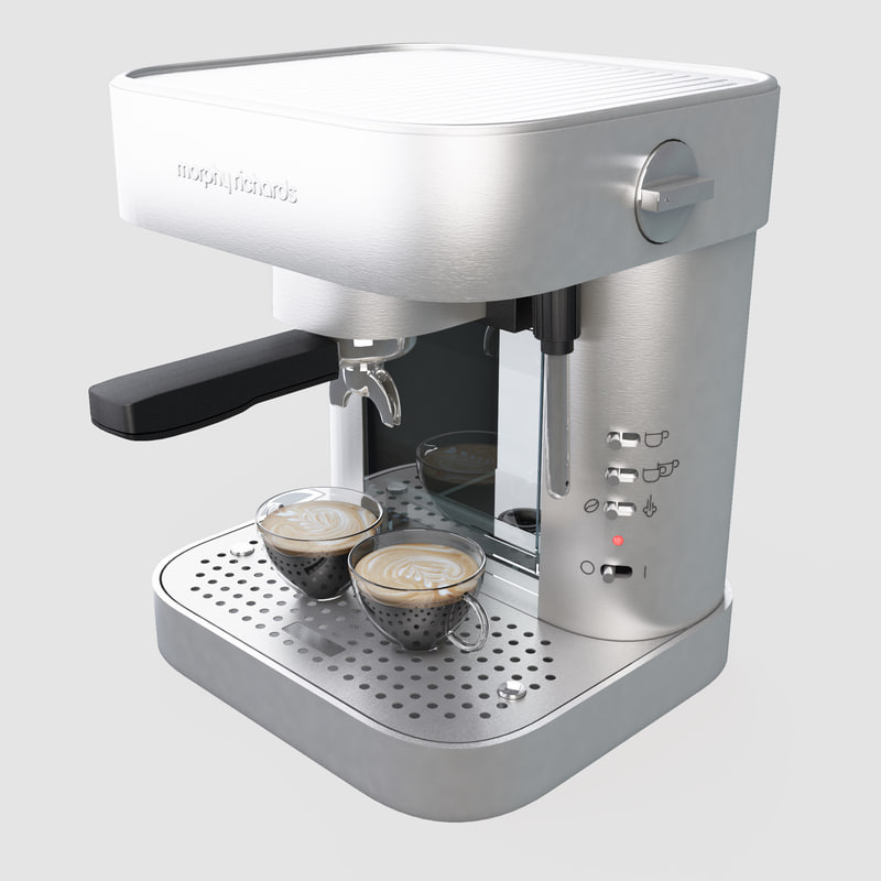 Morphy Richard Coffee Maker 3d Dxf