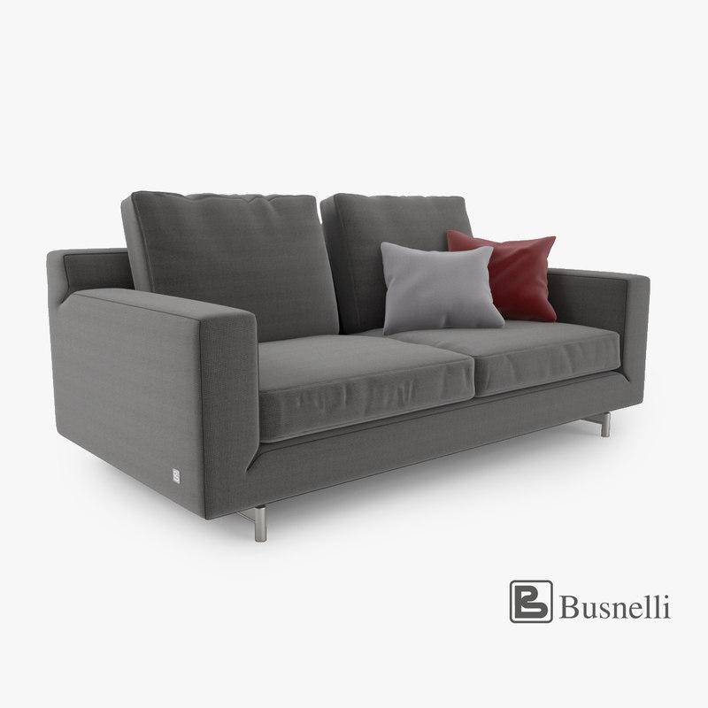 Busnelli Taylor Sofa 2 Seat