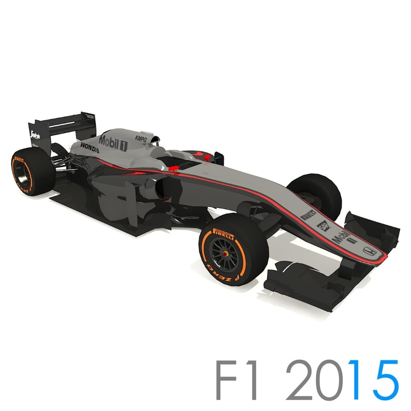 3ds max mclaren honda mp4 30