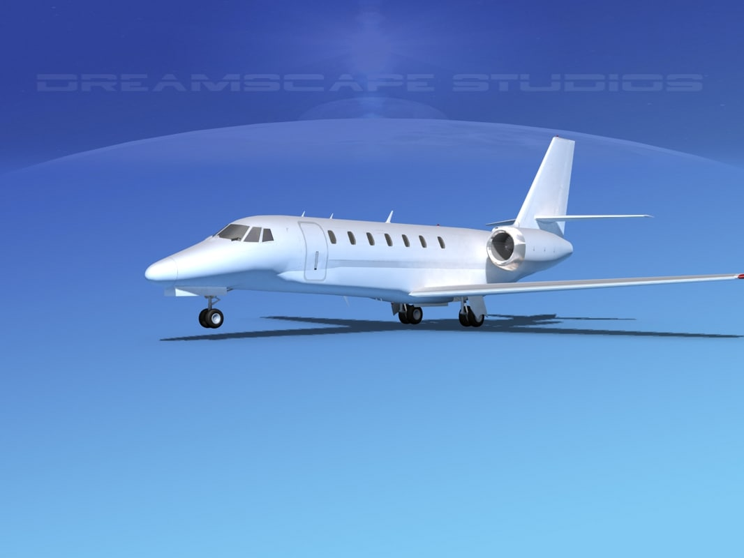 Cessna 680 Sovereign Bare Metal