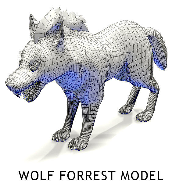 Wolf forest Toon