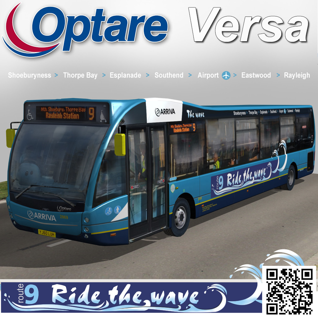 Optare Versa Ride The Wave