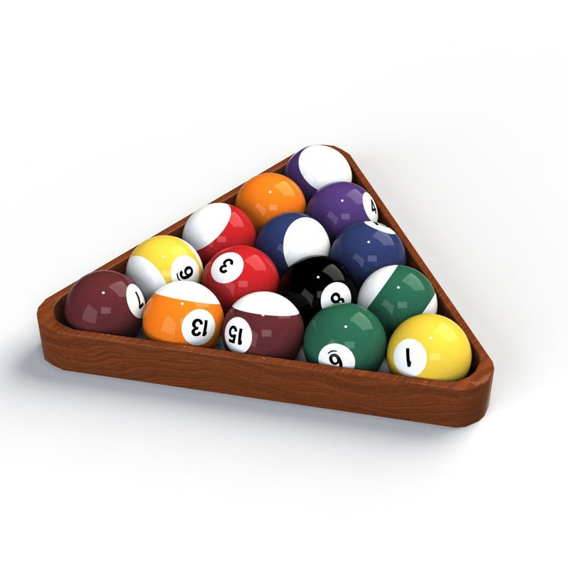 Pool Balls 001